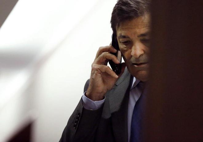 El presidente del Principado y de la Gestora del PSOE, Javier...