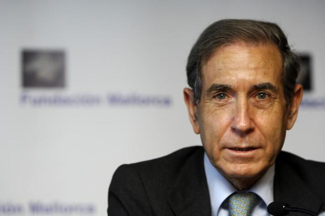 Shlomo Ben Ami, ex embajador de Israel en España, en una imagen de...