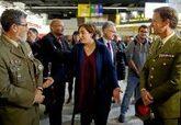 Ada Colau transmite a dos mandos militares que sería «preferible»...