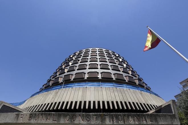 La sede del Tribunal Constitucional en Madrid.
