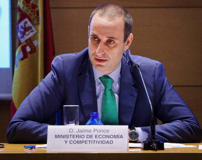 En la imagen, Jaime Ponce, del Ministerio de Economía y Competitividad.