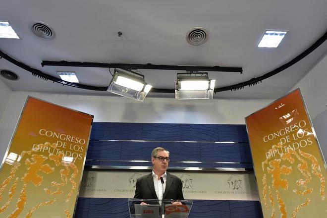 José Manuel Villegas, portavoz adjunto del Grupo Parlamentario...