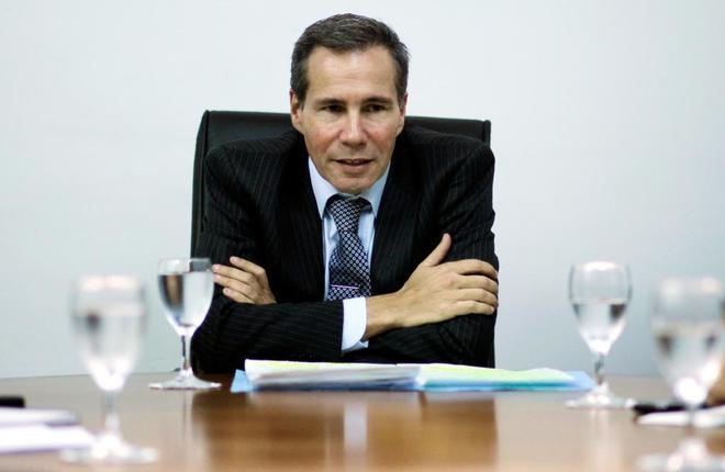 El fiscal argentino Alberto Nisman durante una reunión con periodistas en Buenos Aires, en 2013.