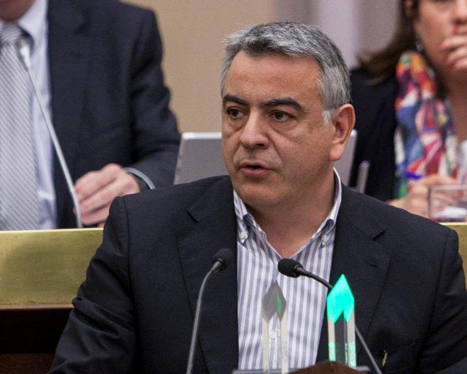 El actual presidente del PP de Álava, Javier de Andrés.