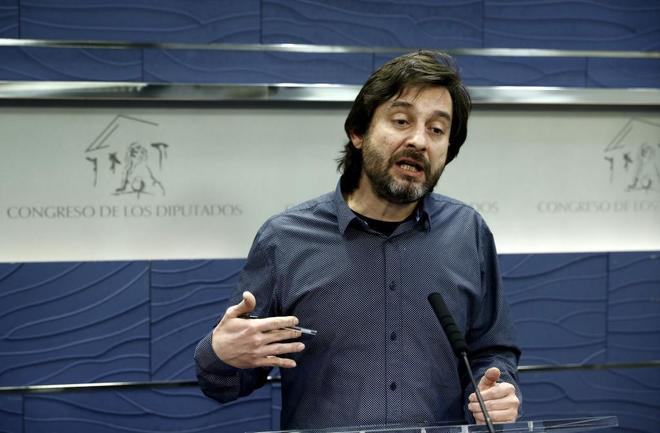 El responsable de Relaciones con la Sociedad Civil de Podemos Rafael...