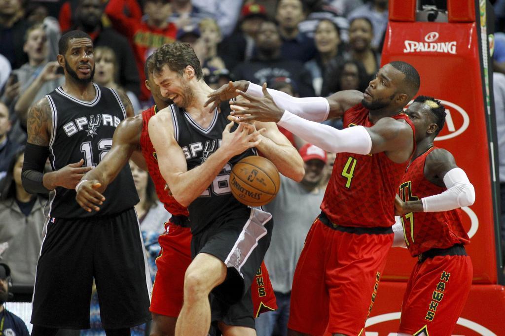 Los Spurs de Pau Gasol perdieron en la prórroga 114-112 ante los...
