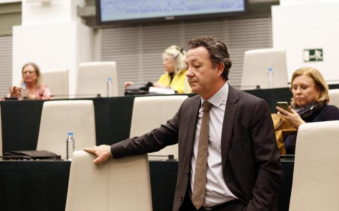 Íñigo Henríquez de Luna, portavoz del PP en la Asamblea de Madrid.