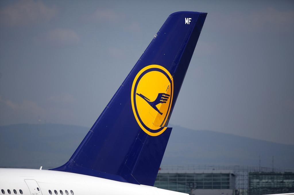 Avión de la compañía alemana Lufthansa.