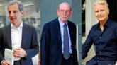 De izqda. a drcha. el diputado y ex ministro Juan Costa Climent; el ex...