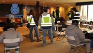 Imagen de las instalaciones en las que trabajaban los miembros de la...