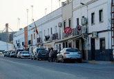 Vista de la avenida Blas Infante de Isla Mayor