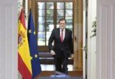 El presidente del Gobierno, Mariano Rajoy, comparece en rueda de...