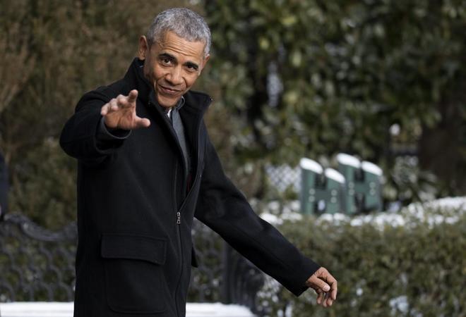 Barack Obama en Washington.