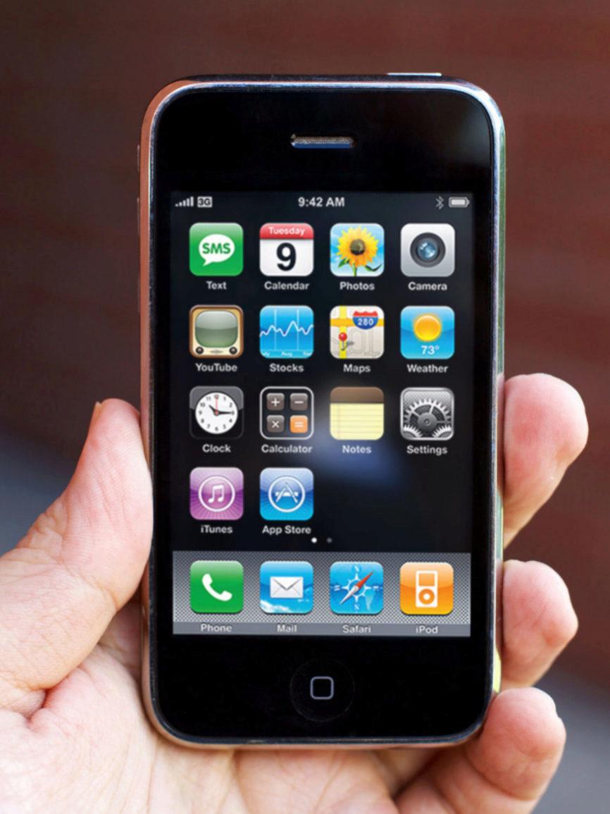 El iPhone 3G fue el primero con este tipo de conexión a Internet y...