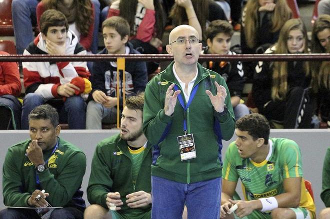 El seleccionador Jordi Ribera durante el Memorial Bárcenas.