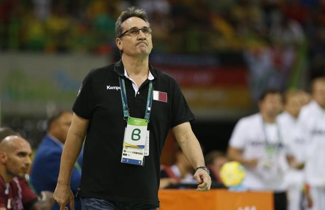 Valero Rivera, entrenador de la selección de balonmano de Qatar