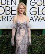 Nicole Kidman, en la gala de los Globos de Oro.