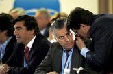 Luis Bárcenas en la Reunión Interparlamentaria del PP celebrada en...