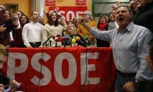La portavoz de las Plataformas militantes socialistas de España,...