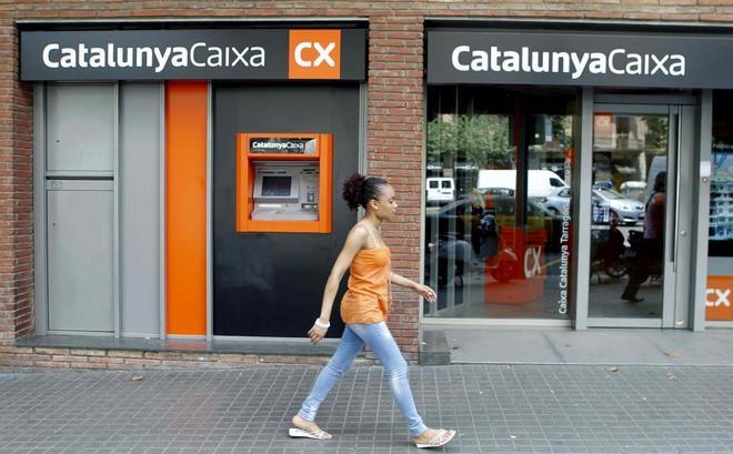 Una sucursal de Caixa Catalunya.