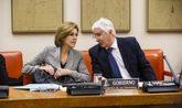 María Dolores de Cospedal y José María Barreda presiden el pasado...