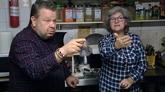 Alberto Chicote en el programa de 'Pesadilla en la cocina' grabado en...