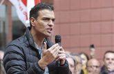 Pedro Sánchez en Xirivella, en el Mitin por un Congreso YA, el pasado...