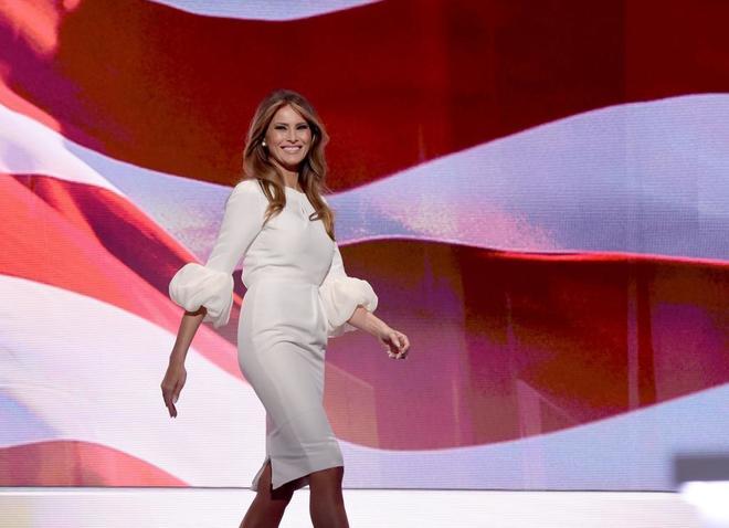 Melania Trump en la Convención Republicana del pasado julio.