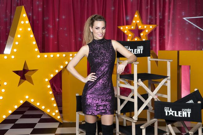 La cantante y presentadora Edurne, miembro del jurado de 'Got Talent'.