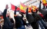 Un momento de la manifestación de ayer por las calles de Callosa del...