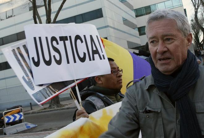 Jorge Verstrynge, a su llegada al Juzgado de lo Penal 13 de Madrid.