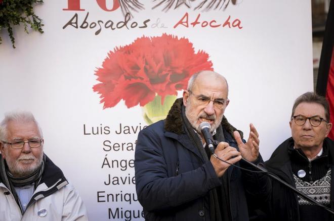 Alejandro Ruiz-Huerta, abogado y superviviente de la matanza, durante...