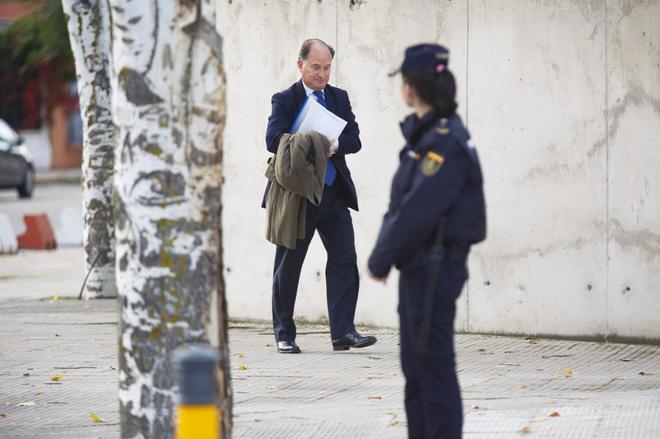 Jesús Sepúlveda llega a la Audiencia Nacional en el juicio por el 'caso Gürtel'.