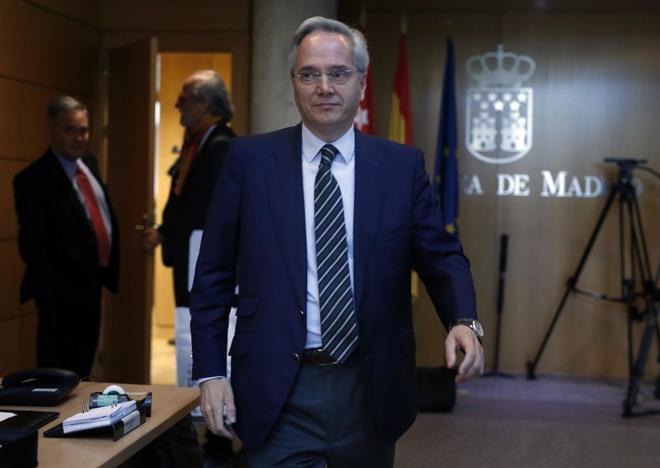 El ex diputado del Partido Popular, Pedro Gómez de la Serna.