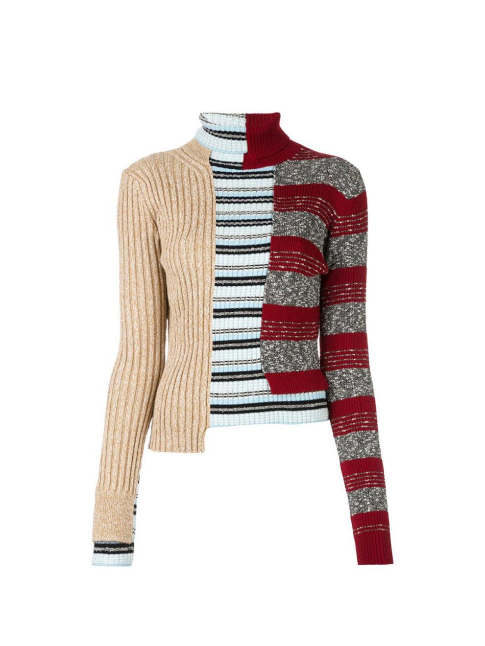 El patchwork (es decir, la mezcla de tejidos y dibujos diferentes a...