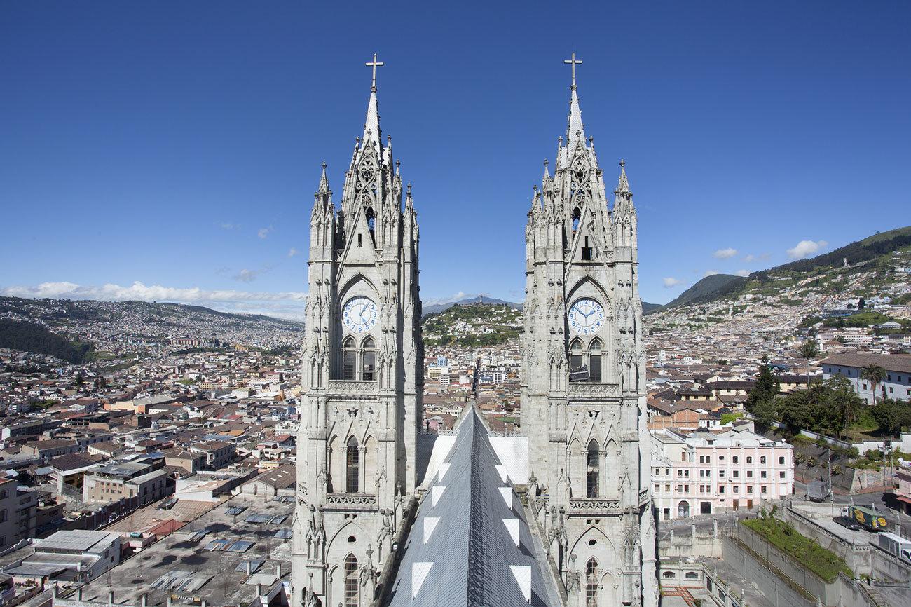 La ciudad de Quito fue la primera en entrar en 1978 en un Patrimonio...