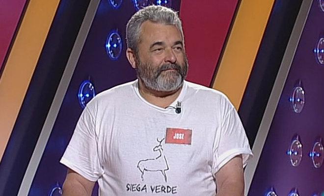 José Pinto, en su vuelta a 'Saber y ganar'.