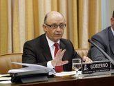 Cristóbal Montoro durante una comparecencia en el Congreso de los...