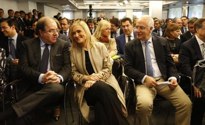 Cristina Cifuentes, en la Junta Directiva Nacional del PP, en...