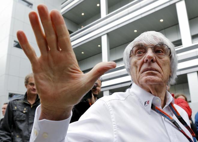 Bernie Ecclestone, en Sochi, en una imagen de archivo.
