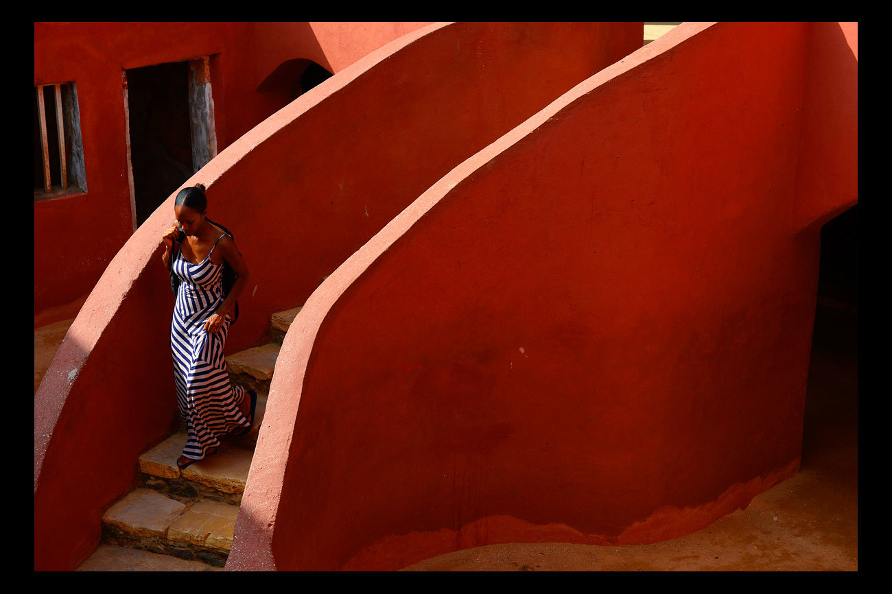 La isla de Gorée, situada frente a Dakar, es uno de los lugares...