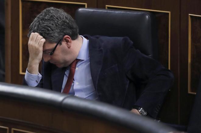 El ministro de Energía, Turismo y Agenda Digital, Álvaro Nadal, ayer...