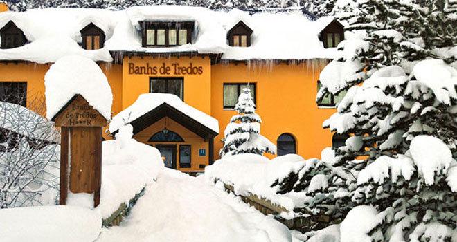 Chapuzones de invierno en aguas termales viajes el mundo - Banos de tredos ...