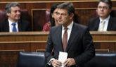 Rafael Catalá, ministro de Justicia, durante su intervención en la...