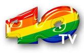 Logotipo de Los 40TV.