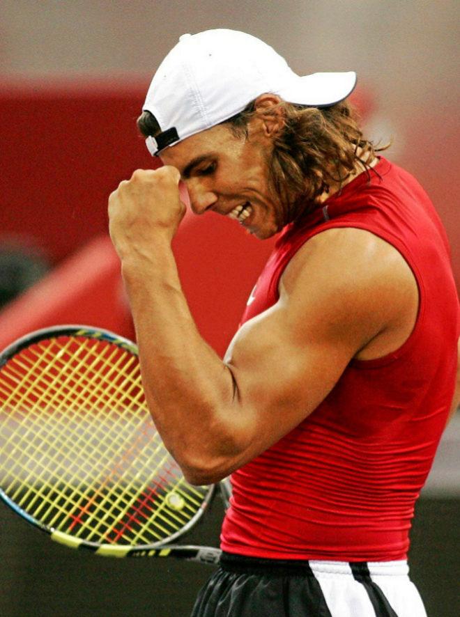 El tenista, en el año 2005.