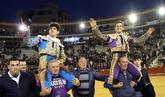 López Simón y El Juli, a hombros en Valencia en 2016, estarán en el...