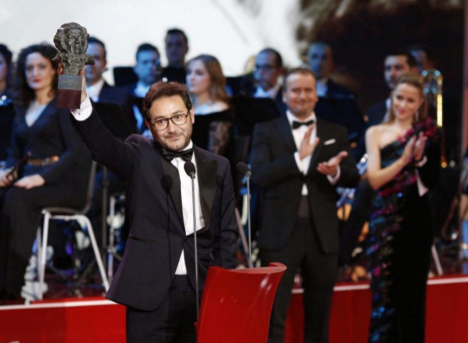 Carlos Santos, Mejor Actor Revelación por El hombre de las mil...