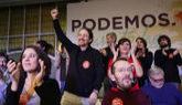 Pablo Iglesias, en la presentación de la lista de su candidatura a...