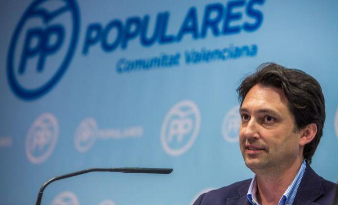 El presidente del PP de la provincia de Valencia, Vicente Betoret.